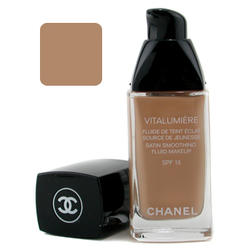 Тональный крем Chanel -  Vitalumiere Satin Smoothing Fluid Makeup №50 Naturel
